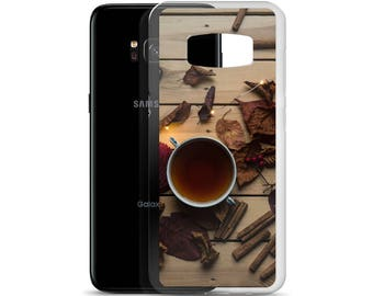 Autumn Cinnamon and Cider Seasons Samsung Case