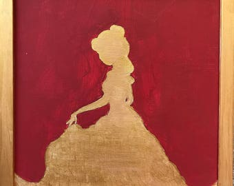 Beauty and the Beast Belle Painting