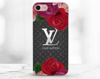 Louis Vuitton Case iPhone 7 Plus Case iPhone X Case Samsung Note 8 Case iPhone 8 Case Louis Vuitton iPhone 8 Plus Case Floral iPhone X cover