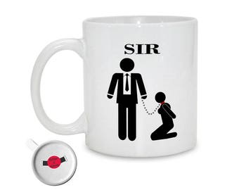 Sir Mug | BDSM Gift For Dominant | Dominant | Fetish | Master | Slave | Dom | Sub | Submissive