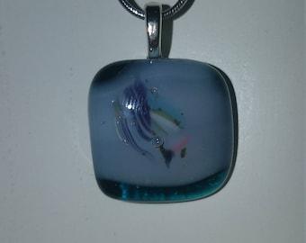 Zume Glass - Handmade Glass Fused Pendant