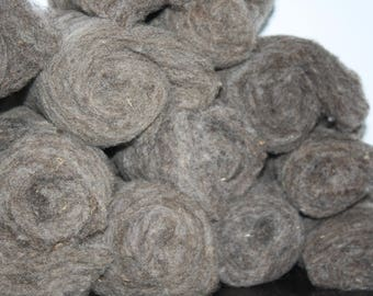 Grey to Dark Brown Clun Forest Roving
