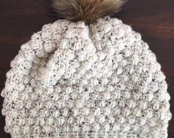 Adult Cozy Crocheted Cap
