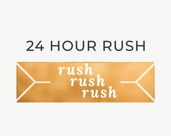 Rush Order | have your invitation in 24 hours
