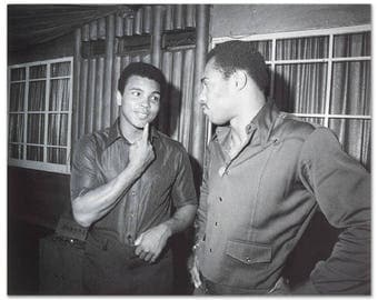 Muhammad Ali Photo with Ken Norton