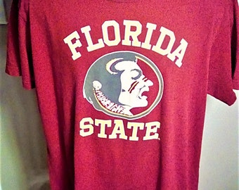 Awesome Florida State Seminoles tee- size XL-soft tee