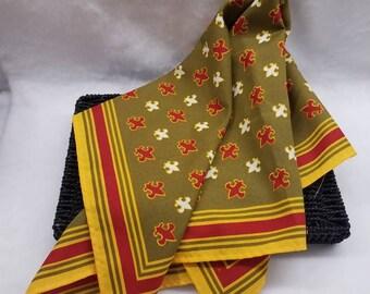 Vintage Oscar de la Renta scarf