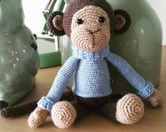 Crochet Monkey of Sokkenwol