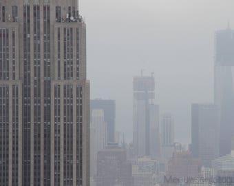 World Trade Center w/ lower Manhatten