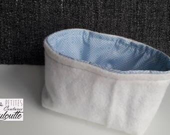 Blue pouch
