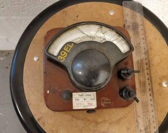 antique vintage gauge meter