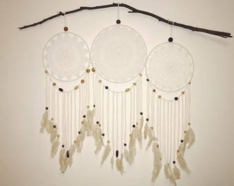 Beaded Dreamcatcher Wall Hanging