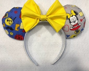 Baby Mickey and friends Disney ears