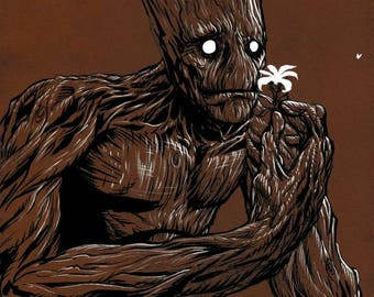 Guardians of the Galaxy: Groot Print