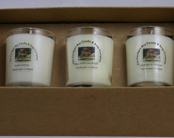 Soy Wax Candle Gift Set. Edition 1