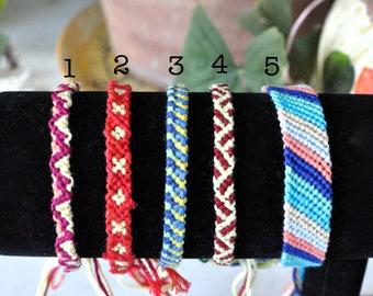 Custom Friendship Bracelets (Medium)