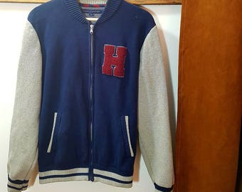 Vintage baseball sweat-shirt Tommy Hilfiger