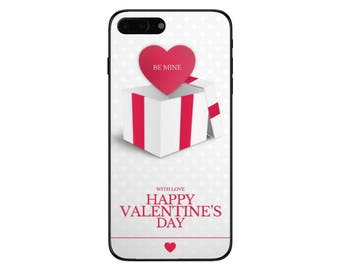 Valentines Day Love Gift Box Phone Case for Apple Iphone 5 6 6s 7 8 10