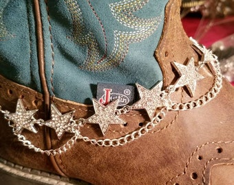 Sparkly Star Boot Bracelets