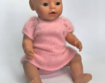 Knitted body for a baby or doll