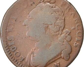 france 12 deniers françois 12 deniers 1792 montpellier km #600.12 v...