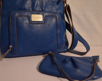 Vintage Liz Claiborne Bag set in Blue