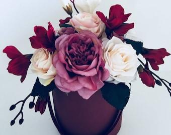 DELIGHT BOUQUET of artificial flower arrangement
