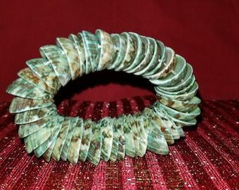 Ceramic Shell Bracelet