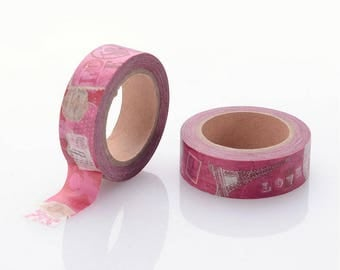 Love/Valentines/Wedding Washi Tape - 15mm x 10 Meters - #SW107
