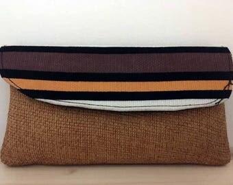 Jute Clutch Bag from Kenya
