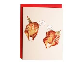 Hot Chicken Valentine-Card