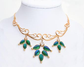 """Gold-collier 18k plated """"princess"""" ca. 36-40 cm"""