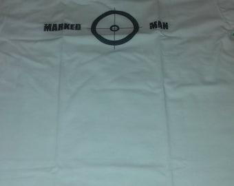 Marked Man T-Shirt White Underground Streetwear Hip Hop