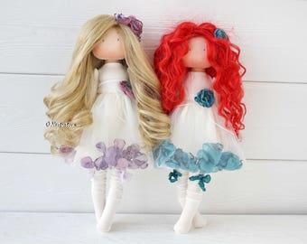Textile doll. Interior doll. Fabric doll. Tilda. Tilda doll. Decor doll. Art Doll by Olesya Nestratova