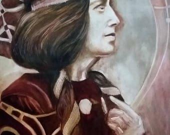 Portrait of Margaret MacDonald Mackintosh