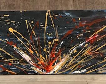 canvas art, acrylic painting, modern art