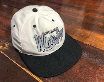 Vintage 90s Chicago White Sox Cap ADJ