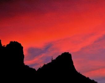 Sonoran Winter Sunset