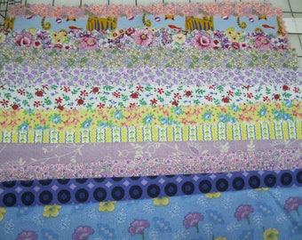 Cotton Quilt Fabric Samples