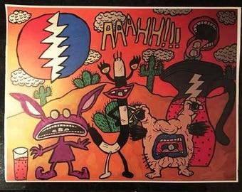Aaahh Real Monsters vinyl print
