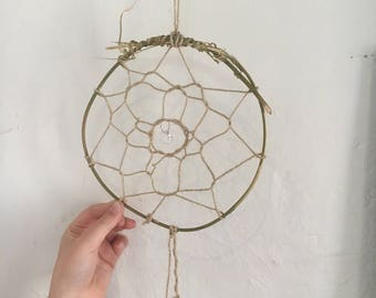 Vine Dream Catcher with glass bead