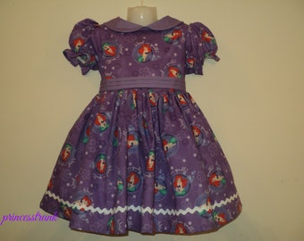 NEW Handmade Disney Little Mermaid Ariel Deluxe Dress Custom Size