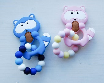 Silicone teether baby teething toy chew toy