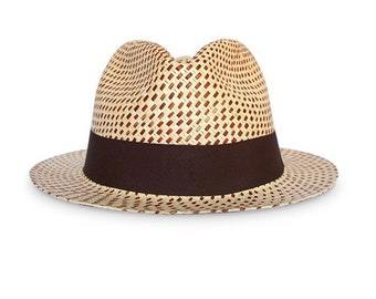 The Dots Authentic Panama Hat
