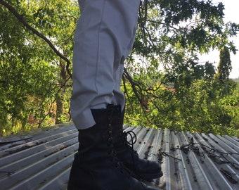 Biltrite leather combat boots