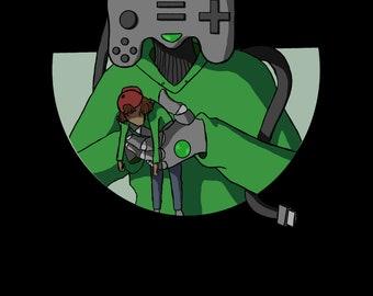Gaming Graphic Tee Shirt