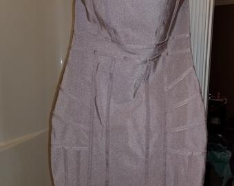 Mauve Missguided Bodycon Dress