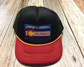 Infant/Toddler Trucker Hat with Colorado Patch-Baby Tru...