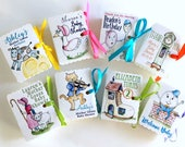 Mother Goose Party Favors   Nursery Rhyme Boxes   Boy Girl Birthday   Baby Shower   Mini Book Themed Favor Boxes   Personalized Custom 20