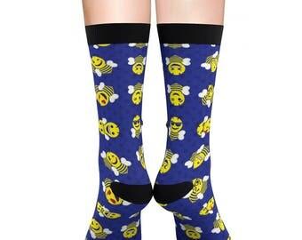 Beemoji Sublimation Socks